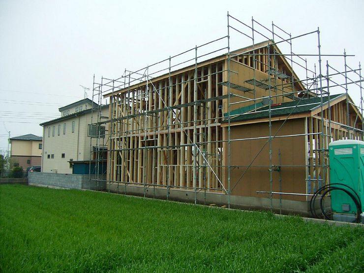 標準仕様の 『木造軸組+構造用面材』で高い耐震性をクリアします